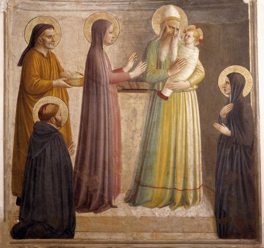 Feast of the Presentation of our Lord  dans images sacrée presentation