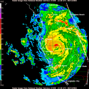 "2004 Hurricane ""Charlie"" - hardly killed anyone."